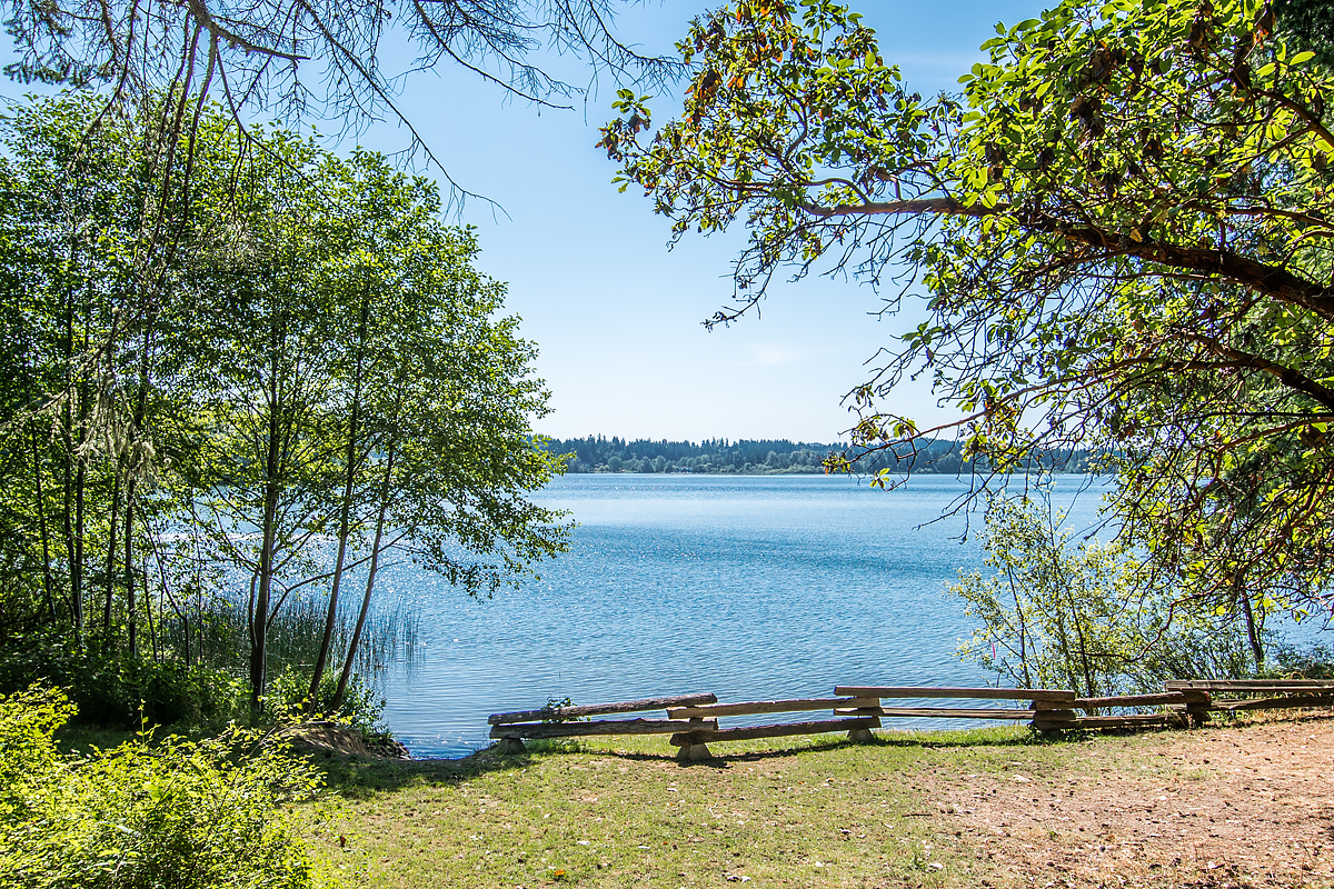 Saanich West, Elk Lake, Sunny Day